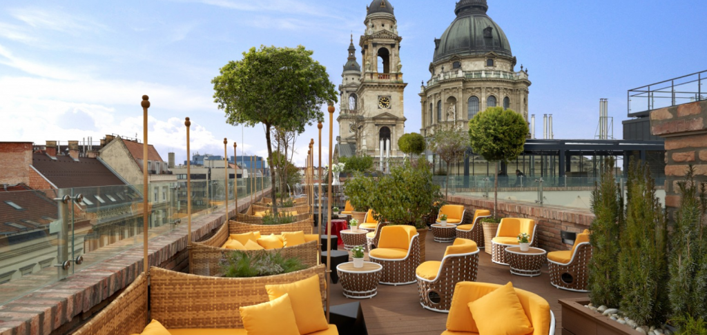 High Note Sky Bar - Aria Hotel Budapest