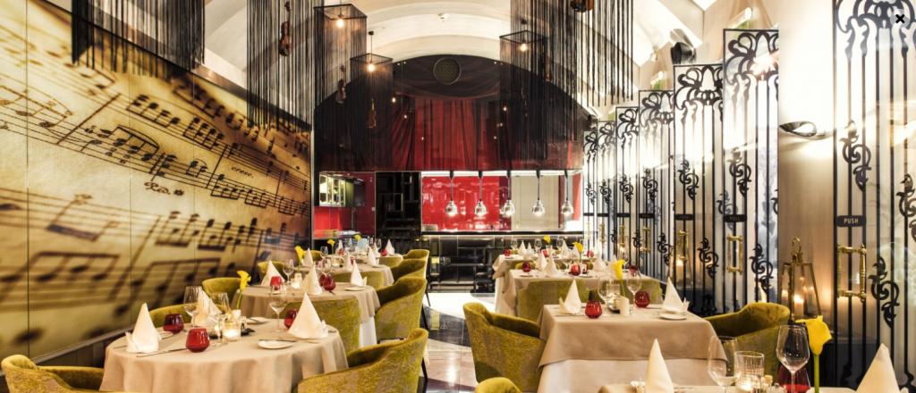 Stradivari Restaurant - Music Garden - Aria Hotel Budapest
