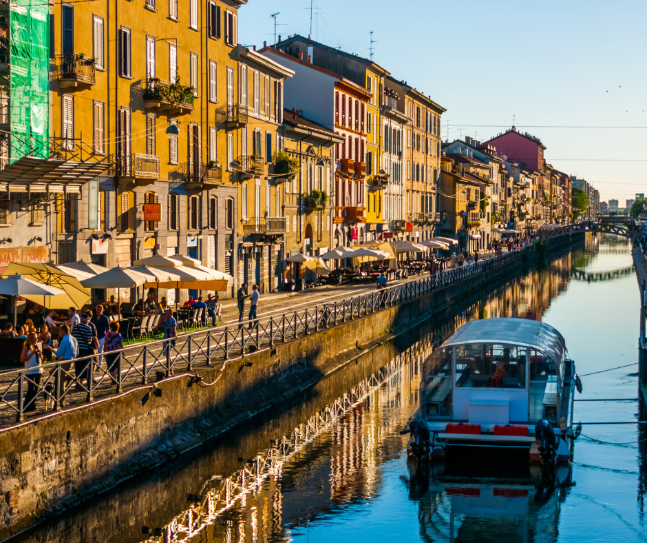 Navigli area Milan